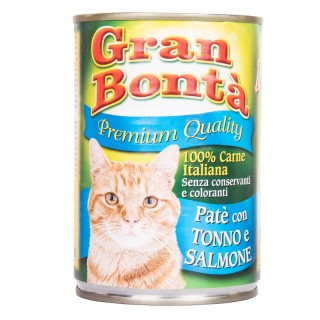 Gran Bonta Cat Pate w/ Tuna & Salmon 400g Cat Wet Food