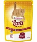 Versele-Laga Lara Adult Beef Jelly 100g Cat Wet Food - (Pouch)
