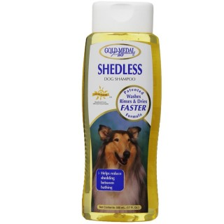 Gold Medal Pets Shedless Shampoo 17oz, Dog and Cat Shampoo