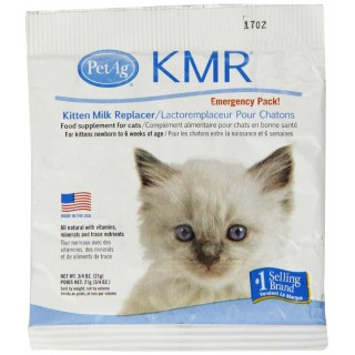 PetAg KMR Emergency pack 25g milk replacer for kittens