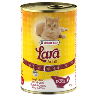Versele-Laga Lara Adult Beef & Lamb 415g Cat Wet Food