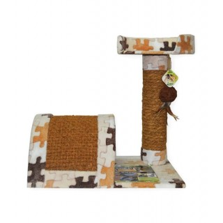 Cocogreen Natural Kitty Play Condo Cat Condo