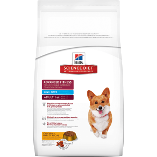 Hill's Science Diet Adult Advanced Fitness Small Bites 8kg Dog Dry Food