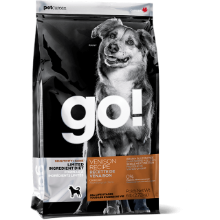 GO! SENSITIVITY + SHINE VENISON DOG DRY FOOD