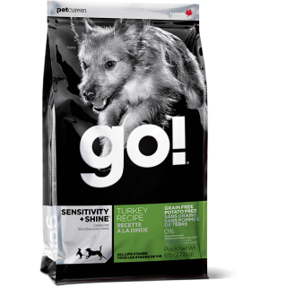 Go! Sensitivity + Shine Grain Free, Potato Free Turkey Dog Dry Food