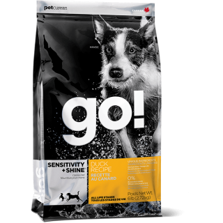 Go! Sensitivity + Shine Duck Recipe Dog Dry Food