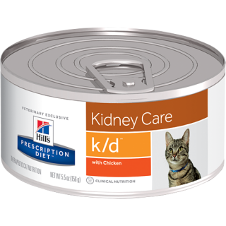 Hill's Prescription Diet Feline Kidney Care k/d with Chicken Cat Wet Food