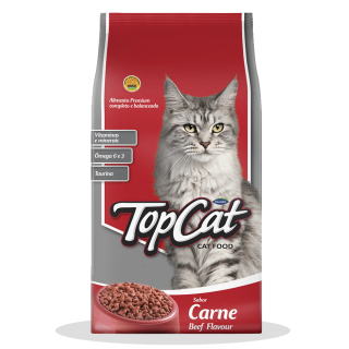 Top Cat Beef Flavor 10kg Cat Dry Food