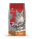Top Cat Beef, Fish & Vegetables 1kg Cat Dry Food