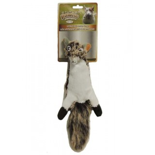 Pawise Stuffless Squirrel Dog Toy