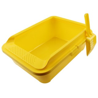 Cat Litter Pan Box Large with Scoop