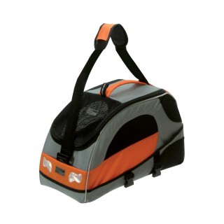 Petego Sport Wagon Silver & Orange Pet Carrier Bag
