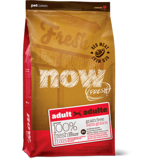 Now Fresh Grain-Free Red Meat Recipe Adult Dog Dry Food