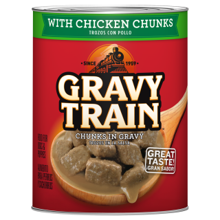 Gravy Train Chunks In Gravy With Chicken 13.2oz Wet Dog Food