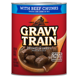 Gravy Train Chunky In Gravy With Beef 13.2oz Wet Dog Food