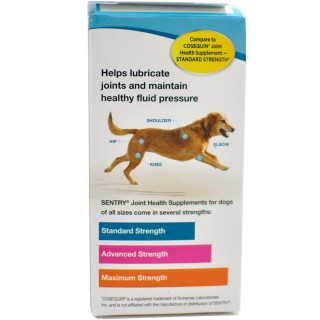 Sentry Joint Health Supplement Standard Strength for Dogs 75 Tablets