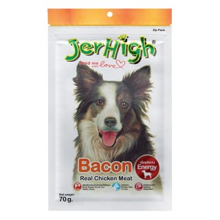 Jerhigh Bacon Real Chicken Meat 70g Dog Treats