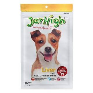 Jerhigh Liver Real Chicken Meat Stick 70g Dog Treats