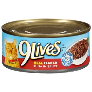 9 Lives Tender Morsels with Real Flaked Tuna in Sauce 156g Cat Wet Food