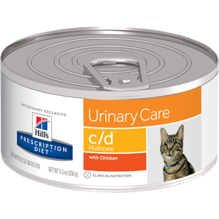 Hill's Prescription Diet Feline Urinary Care c/d Multicare 156g Cat Wet Food