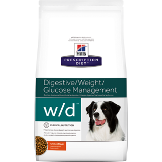 Hill's Prescription Diet Canine Digestive/Weight Glucose Management Chicken Flavor 1.5kg Dog Dry Food