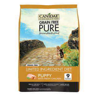 Canidae Puppy Grain-Free Pure Foundations Dog Dry Food
