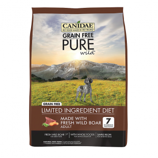 Canidae Adult Grain-Free Pure Wild with Fresh Wild Boar 5.4kg Dog Dry Food