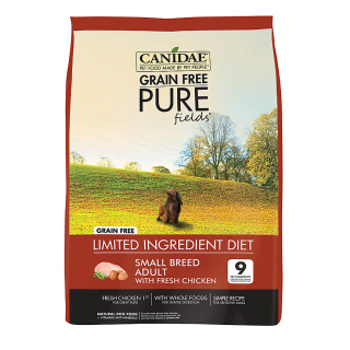 Canidae Small Breed Adult Grain-Free Pure Fields with Fresh Chicken Dog Dry Food