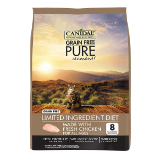 Canidae Pure Elements with Fresh Chicken 6.8kg Cat Dry Food