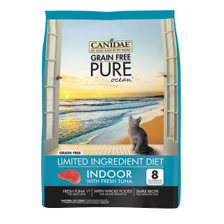 Canidae Pure Ocean Indoor Formula with Fresh Tuna 1.8kg Cat Dry Food