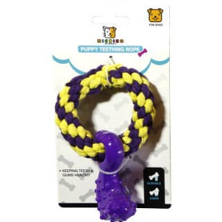 Michiko Puppy Teething Rope Puppy Toy