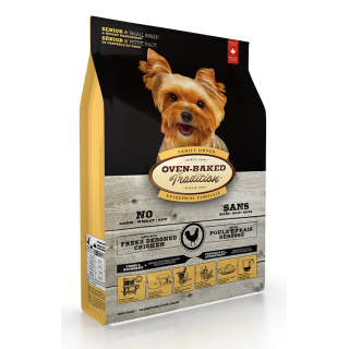 Oven Baked Tradition Senior & Weight Management Small Breed 2.27kg Dog Dry Food