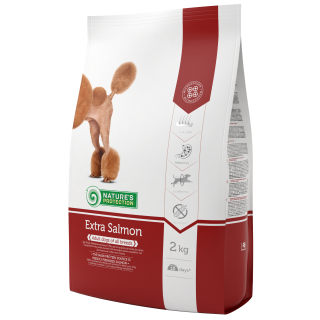 Nature's Protection Extra Salmon Dog Dry Food