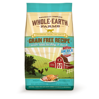Whole Earth Farms Grain Free Recipe with Real Turkey & Duck 4.5kg Cat Dry Food