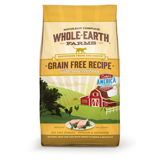 Whole Earth Farms Grain Free Recipe with Real Chicken 4.5kg Cat Dry Food