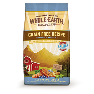 Whole Earth Farms Grain Free Recipe Healthy Weight 11.3kg Dog Dry Food