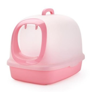 Michiko Modern Closed Litter Pan with Scoop