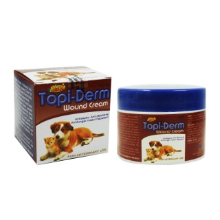 Papi Topi-Derm Pet Wound Cream