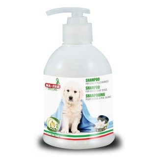 Ma-Fra Pet Line Shampoo for White-Coat Dogs with Neem Oil 250ml