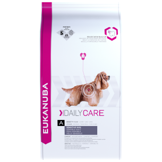 Eukanuba Daily Care Sensitive Skin Dog Dry Food