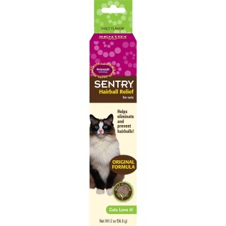 Sentry Hairball Relief for Cats & Kittens 56.8g Malt Flavour