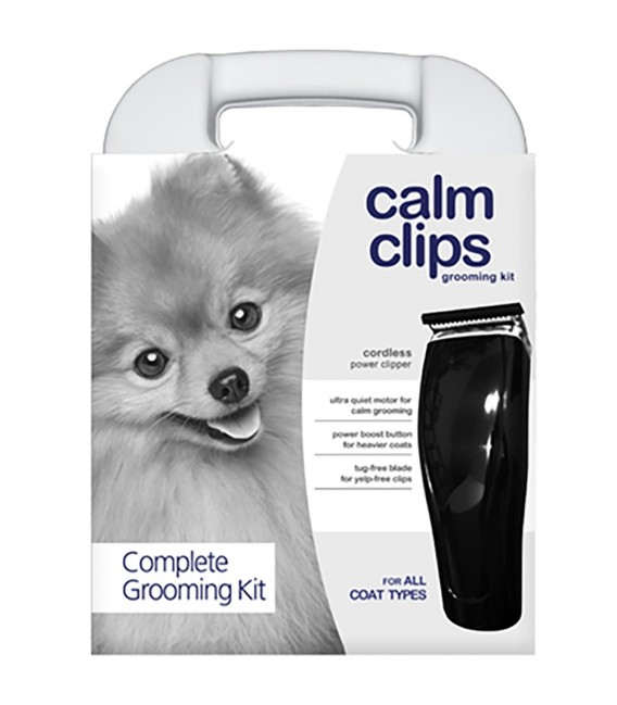 oster calm clips complete pet grooming kit