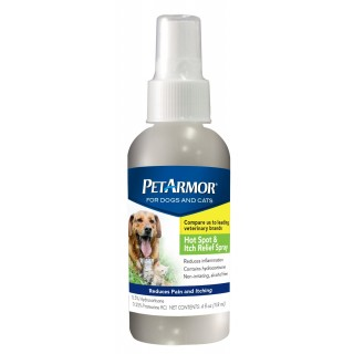 PetArmor Hot Spot & Itch Relief Spray for Dogs & Cats 118ml