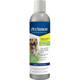 PetArmor Itch & Allergy Dog and Cat Shampoo 236ml