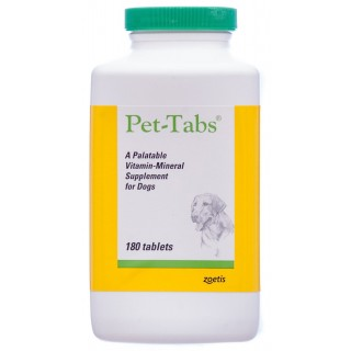Zoetis Pet Tabs 180 Tablets Dog Supplement