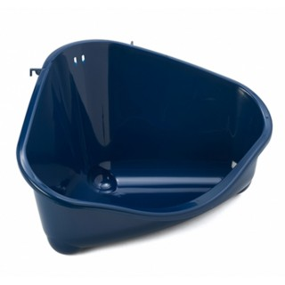 Moderna Pet's Corner Royal Blue Small Pet Litter Pan - Large