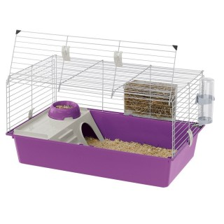 Ferplast Cavie 80 Habitat Cage for Small Pets - Grey