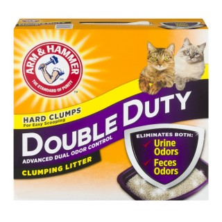 Arm & Hammer Double Duty 14 lbs (6.35kg) Clumping Cat Litter