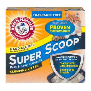 Arm & Hammer Super Scoop Fragrance Free 14 lbs (6.35kg) Cat Litter