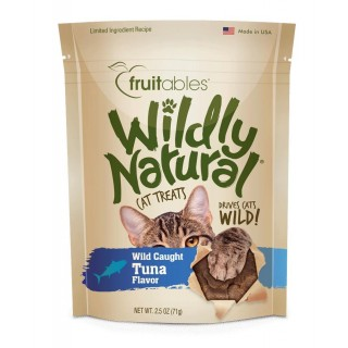 Fruitables Wildy Natural Wild Caught Tuna Flavor 71g Cat Treats